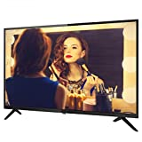 DEMAXIYA Smart Televisions, Curved TV, Ultra HD 4K, Smart Network 4K HD LCD TV, Apto para Uso en Interiores y Exteriores, frecuencia de actualización 60Hz
